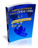 Thumbnail Making An Income From Online Video - Make Money Fast Online