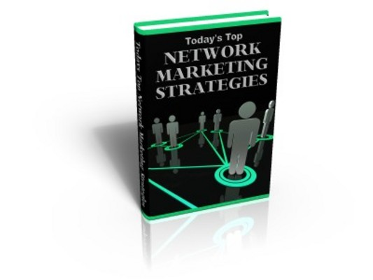 Product picture Network Marketing Strategies - Money Making Ideas
