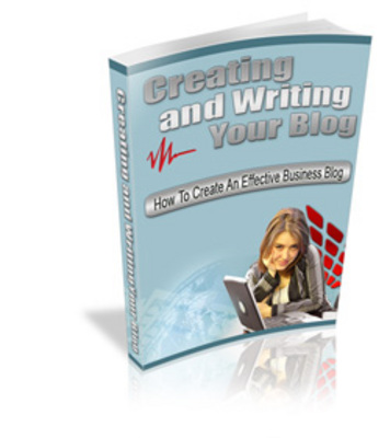 Product picture Creating & Writing Your Blog - Secret Money Tips