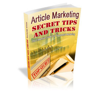 Product picture Article Marketing Secret Tips - SEO