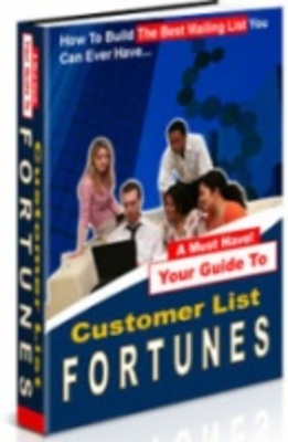Product picture Customer List Fortune - List Building Made Easy