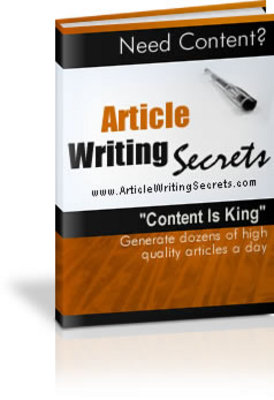 Product picture Article Writing Secrets - Master Writing Skills