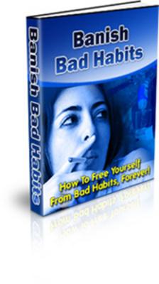 Product picture Banish Bad Habits - Self Help