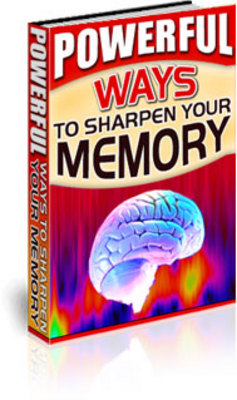 Product picture How To Sharpen Your Memory - Self Help Guide